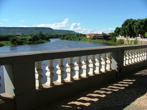 Orla do antigo cais de Barreiras. Local de nascimento da cidade