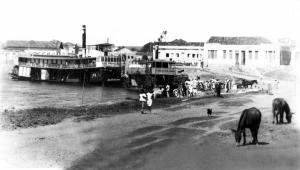 Cais de Barreiras no início do século 20